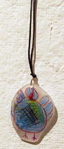 Necklace by Elise Shugrue (Massachusetts).