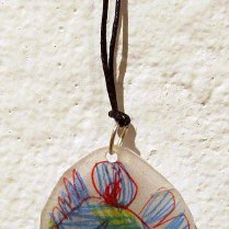 Necklace by Elise Shugrue (Massachusetts).