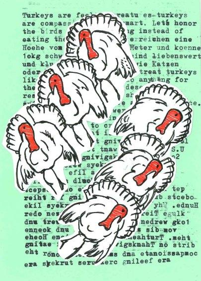 Collage by Kajsa Philippa Niehusen, Berlin Germany