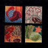 Glued fabric by Kevin Archer (North Carolina).