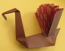 Origami by Marguerite Ogden (Maine).