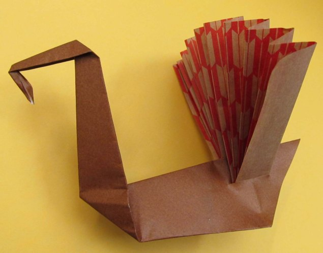 Origami by Marguerite Ogden (Maine).