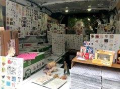 Inside Van