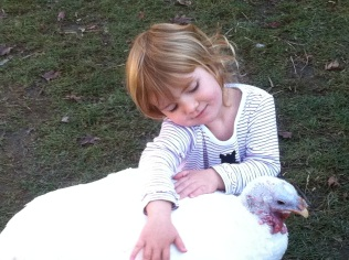 Emma (shown with Lucy) lives at Safe Haven Farm Sanctuary in Poughquag, New York